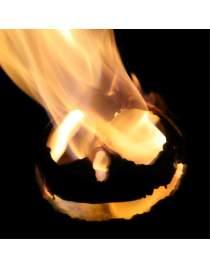Feuerfratze aus Edelstahl zur Wahl 4 verschiedene Gesichter