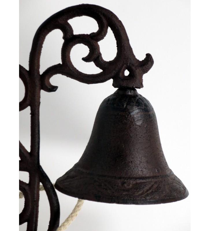 Türglocke Gesamthöhe ca.27cm Nostalgie Look, antikfarben
