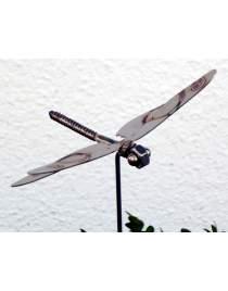 Gartenstecker Libelle aus Edelstahl am Stab ca.75 cm