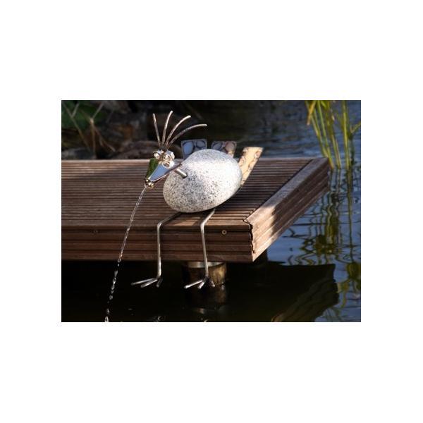 Wilder Granitvogel Wasserspeier Kantenhocker