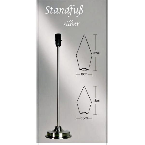 standfu f r leuchtsterne variabel f r alle gr en metall. Black Bedroom Furniture Sets. Home Design Ideas