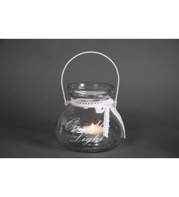 Windlicht aus Glas Candle...