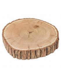 Baumscheibe aus Holz ca. 23x2 cm