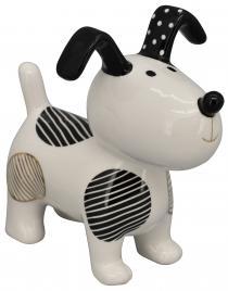 Hund XOXO aus Keramik ca.17x10,3x16,2 cm