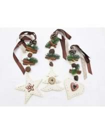 Weihnachtszuckerzauber Holzkette zur Wahl