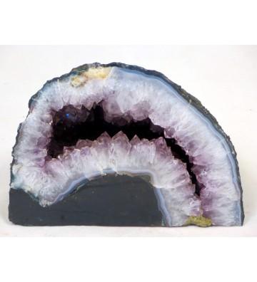 Amethyst Geode ca. 3,35 KG schwer, ca. 13,5 cm hoch