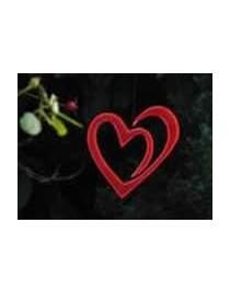 Sonnenfänger Herz im Herz Höhe ca. 20cm x Breite ca. 18cm